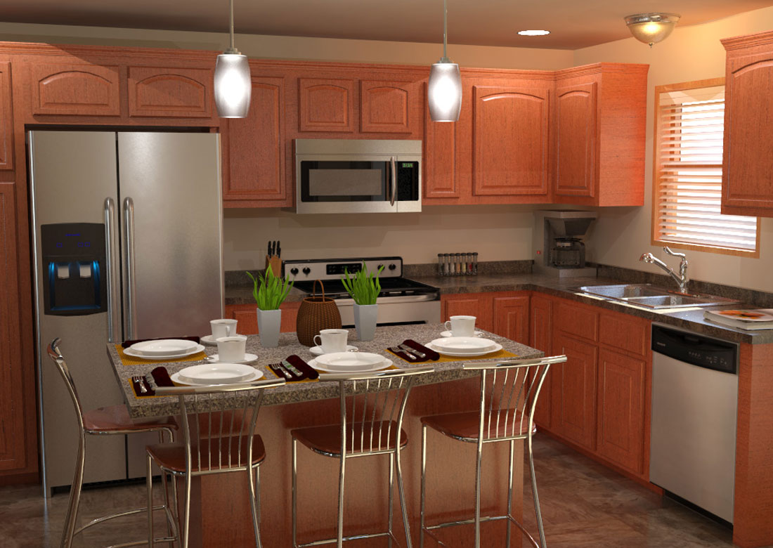 Jade Kitchen Island - The Jade Home Plan  Veridian Homes